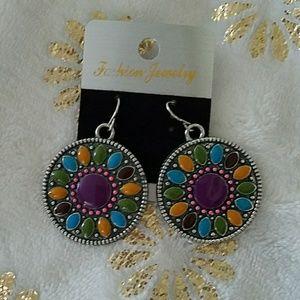 Multi Colored BOHO Earrings